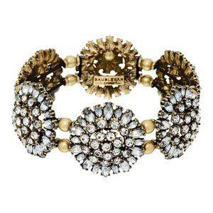 NWOT $68 BaubleBar Crystal Dandelion Bracelet